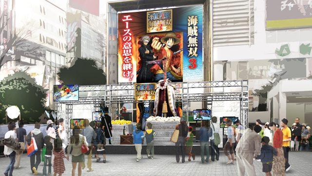 『ワンピース 海賊無双3』試遊イベントを開催! 「特別なモニュメント」も登場!!