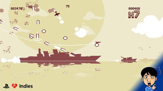 【インディーズ探索隊】『Luftrausers』で戦闘機のレーザーをぶっ放して敵だらけの空中戦を勝ち抜け!