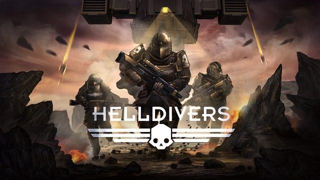 超骨太SFシューティングゲーム『HELLDIVERS(ヘルダイバー)』の発売日が決定!