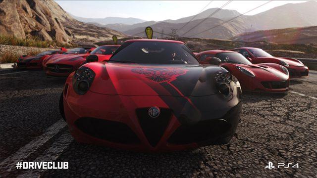PS4™『DRIVECLUB』アップデート! マルチプレイの「リプレイモード」追加!