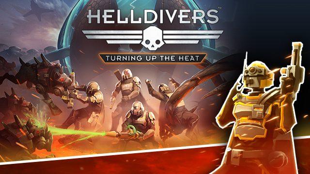 エイリアンとの戦いに新たなる装備を支給! 『HELLDIVERS(ヘルダイバー)』追加ダウンロードコンテンツ第2弾が本日発売!