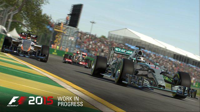 より美しく、よりリアルに。『F1™ 2015』は2014年シーズンの全データもボーナスコンテンツとして収録!