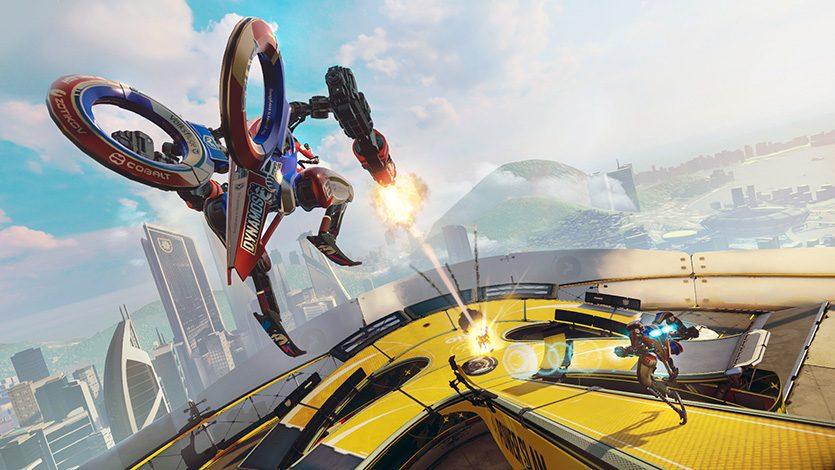 【E3 2015】Morpheusの注目作! e-sports要素を持つロボットシューター『RIGS』プレイインプレッション!