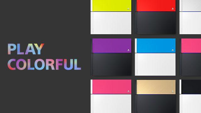 7色から選べるPlayStation®4 HDDベイカバーを、ソニーストアにて9月15日(火)より予約開始!