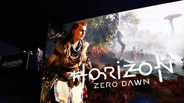 世界初の生プレイ披露に会場が興奮! 『Horizon Zero Dawn』ステージレポート!