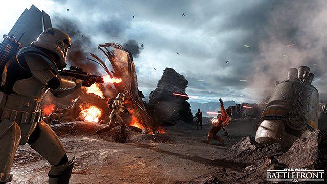 """最大40人同時対戦も体験可能! 『Star Wars™ バトルフロント™ ベータ』本日配信! 製品版に先駆けて""""はるかかなたの銀河系""""へ旅立とう!"""