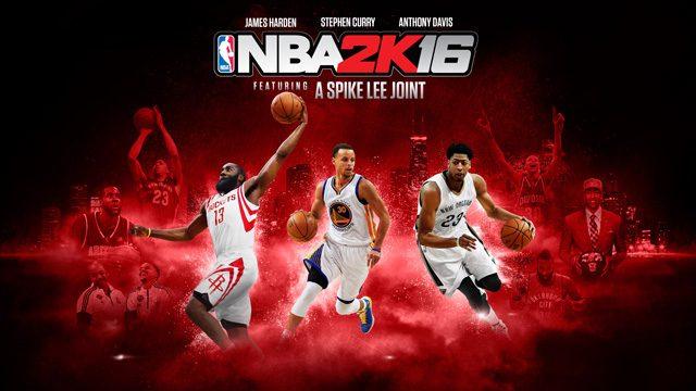 本場NBAのリアルなバスケを体験せよ! 人気バスケットボールゲームシリーズ最新作『NBA 2K16』本日発売!