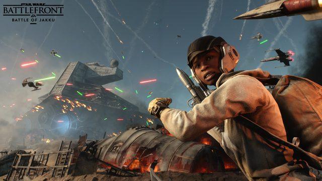DLCで広がる『Star Wars™ バトルフロント™』の世界! 映画最新作にも登場する惑星ジャクーでの戦いを体験せよ!!【特集第5回/電撃PS】
