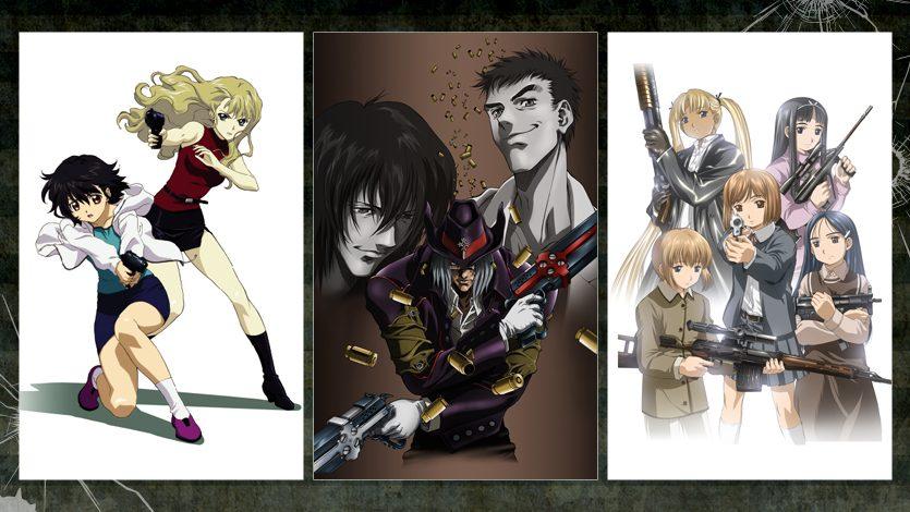 『NOIR(ノワール)』/『Gungrave』/『GUNSLINGER GIRL』 /『GUNSLINGER GIRL -IL TEATRINO-』