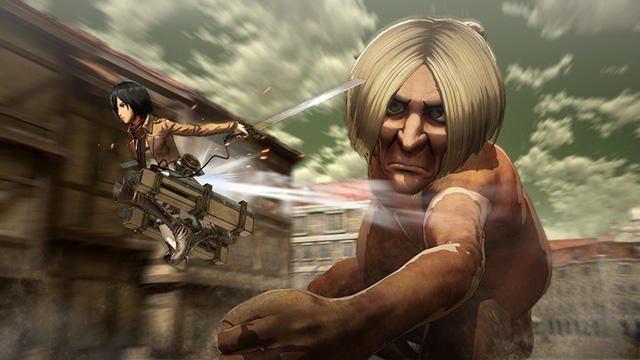 『進撃の巨人』ダウンロード版の予約受付開始! PS4®版はPS Store専用特典「エレン/ミカサ/リヴァイ アバターセット」が付属!