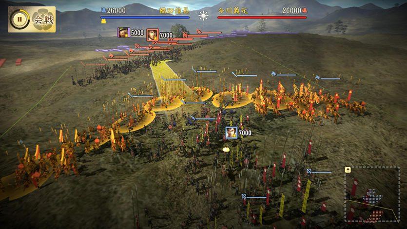 『信長の野望・創造 戦国立志伝』の合戦はさらに奥深く進化! 武将視点での戦術性あふれる戦に挑め!