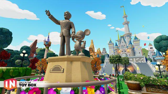 アメリカの「ディズニーランド」風の世界だって作れちゃう。