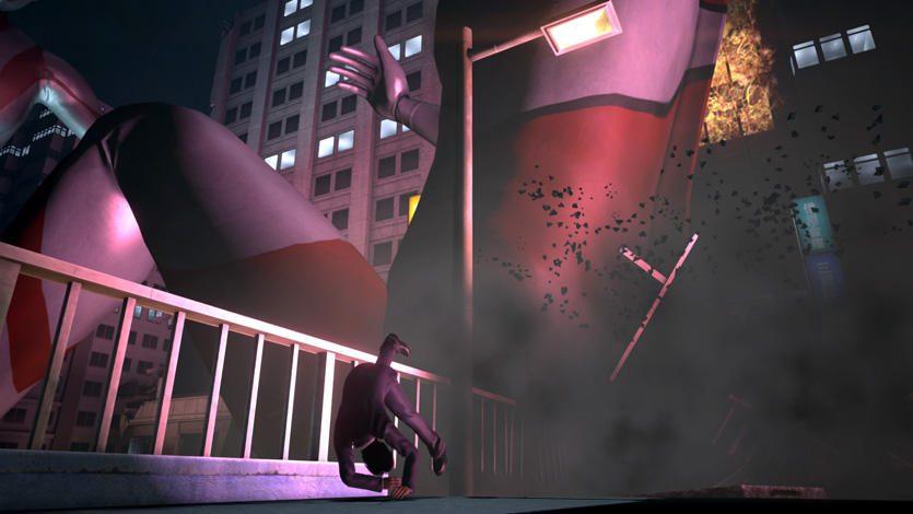 迫り来る巨大な影! 危機から脱出するサバイバル・アクションアドベンチャー『巨影都市』がPS4®/PS Vitaで発売!