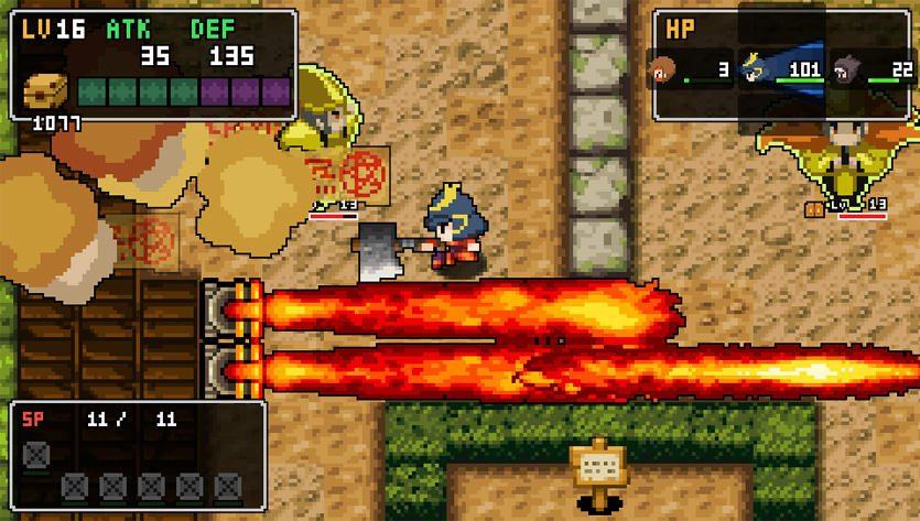 2Dドット絵のアクションRPG! 「クラシックダンジョン」シリーズ最新作『クラシックダンジョン 戦国』の新システムを公開!