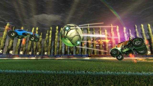 ボールは大きいから、狙いやすい!! イキオイをつけてぶつかれば、超ふっとぶ!!