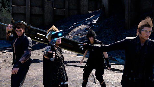 【PS VR】『FINAL FANTASY XV』E3プレイインプレッション! 世界観を拡張するPS VR!