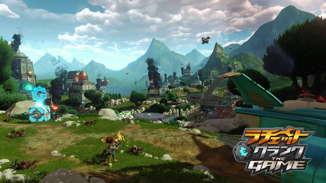 PS4®『ラチェット&クランク THE GAME』プレイ動画第1弾公開! 惑星ノバリスで新生ラチェットが大暴れ!!