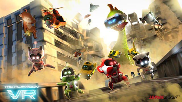 【PS VR】最大5人で楽しめる無料配信のパーティーゲーム『THE PLAYROOM VR』! 様々なコンテンツで遊べる!