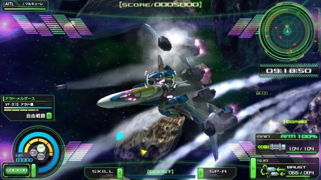 育成したオリジナルキャラとチューンした機体で銀河の戦場へ! PS Vita『マクロスΔスクランブル』最新情報