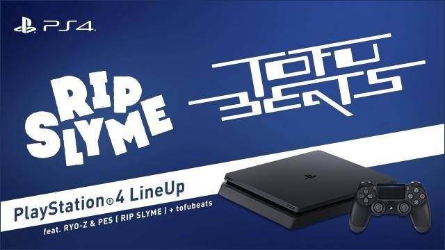 RYO-Z&PES(from RIP SLYME)とtofubeatsがコラボ!! PS4®注目の22タイトルをラップで紹介する特別映像第3弾!