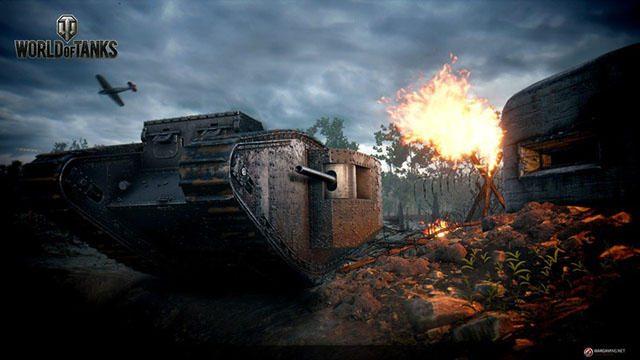 世界初の戦車Mark Iが登場!! 『World of Tanks』の戦車生誕100周年記念イベントで「塹壕戦」モードが開幕!