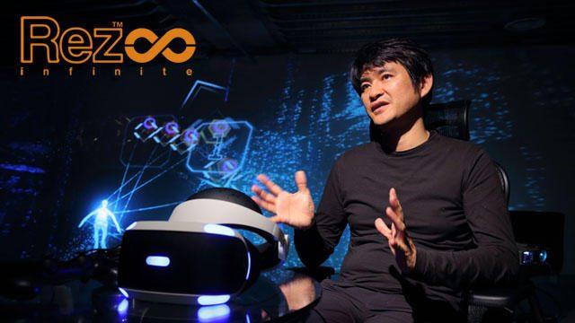 """【PS VR】""""音を見るように、色を聴くように""""──『Rez Infinite』水口哲也氏インタビュー!"""
