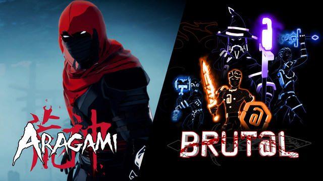 強烈な色彩のインディータイトル『Aragami』と『Brut@l』の2作品が本日10月20日配信開始!