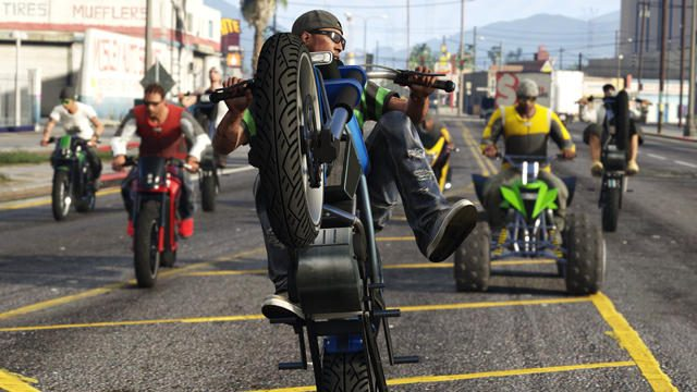 新アップデート「GTAオンライン:バイカー」好評配信中! 敵対モード「スリップストリーム」も熱い!