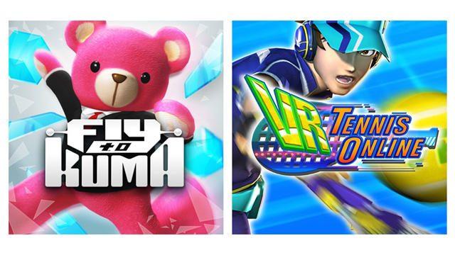 【PS VR】『Fly to KUMA』と『VR Tennis Online』、コロプラが手掛けるVR専用コンテンツの魅力に迫る!