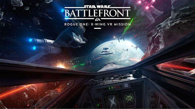 PS VRで「Star Wars™」! 『Star Wars™ バトルフロント™ Rogue One™: Xウィング VR ミッション』配信!