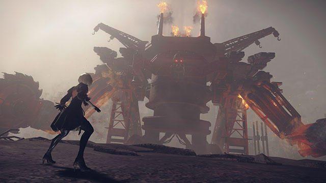 バトルアクションをひと足早く楽しめる! PS4®『NieR:Automata』体験版「DEMO 120161128」が12月22日配信!