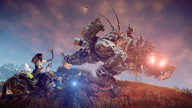 『Horizon Zero Dawn』最新映像を公開! 大地を支配する鋼鉄の獣たちとの戦い、古の遺跡に隠された謎とは?