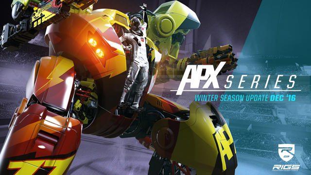 【PS VR】『RIGS Machine Combat League』冬季アップデート配信中! 追加要素の紹介トレーラーを本日公開!