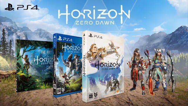 『Horizon Zero Dawn』初回限定版がさらに充実。アートブック「THE ART OF Horizon Zero Dawn」収録決定!