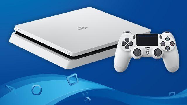 PlayStation®4「グレイシャー・ホワイト」2017年2月23日より日本国内発売