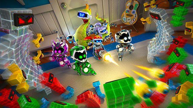 【PS VR】本日より『THE PLAYROOM VR』追加コンテンツ「トイウォーズ」を無料配信!