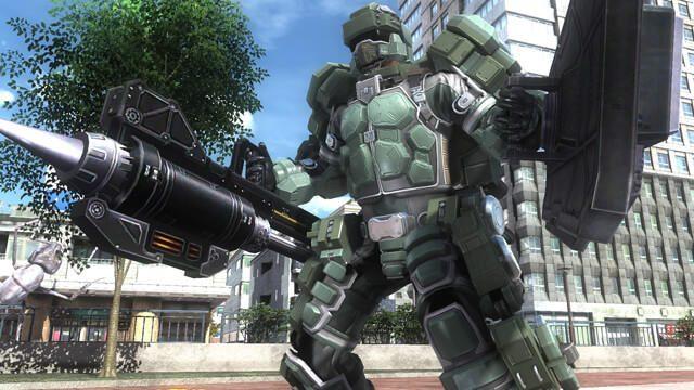 PS4®『地球防衛軍5』の新たな兵科は重装歩兵!? 兵科・フェンサーをクローズアップ!