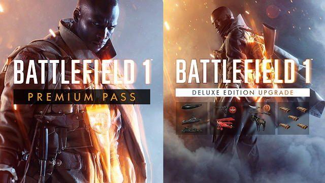 「Premium Pass」を購入して「バトルフィールド 1 Deluxe Edition アップグレード」もお得に手に入れよう!