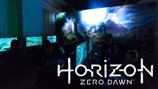 壮大無比なストーリーに心躍る! PS4®『Horizon Zero Dawn』メディア先行体験会レポート!