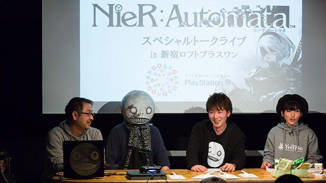 爆弾発言が続出!? 初公開ステージの実機プレイも披露された『NieR:Automata』トークライブをレポート