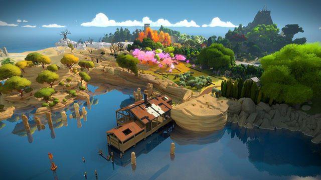 多彩なパズルと孤島の謎に挑め! 柔軟な発想と注意力が試されるPS4®『The Witness』をプレイ!