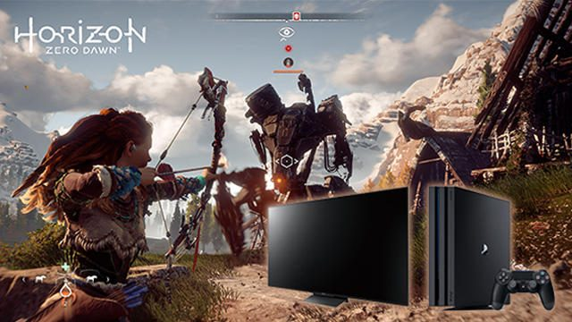 4K/HDRの高度な映像をソニーストアで体験! 『Horizon Zero Dawn』× BRAVIAトークイベントの参加受付中!
