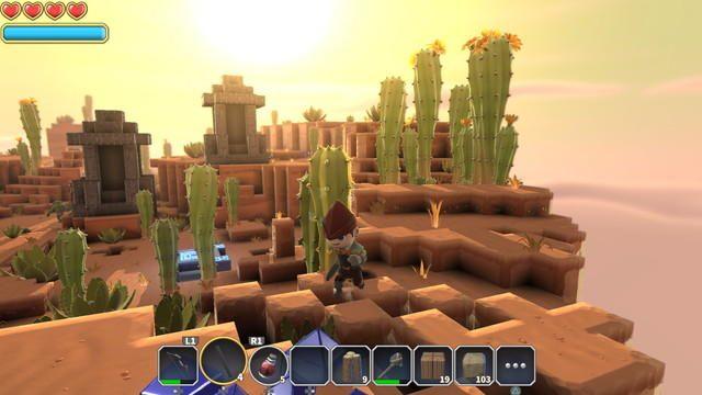 PS4®で楽しむモノづくりアクションRPG『ポータルナイツ』──壊して建てて思い通りにメイキング!