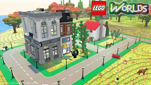 作って、壊して、冒険しよう! 『LEGO®ワールド 目指せマスタービルダー』4月6日発売。トレーラーも公開!