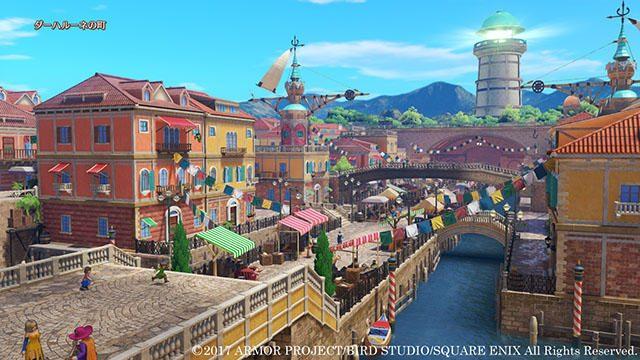 PS4®『ドラゴンクエストXI』の冒険世界、広大なロトゼタシアを紹介! 新たな仲間シルビアの情報も!