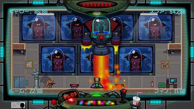 PS4®『88 Heroes』本日配信! 愛する地球を守るため、88個のステージをそれぞれ88秒以内にクリアせよ!