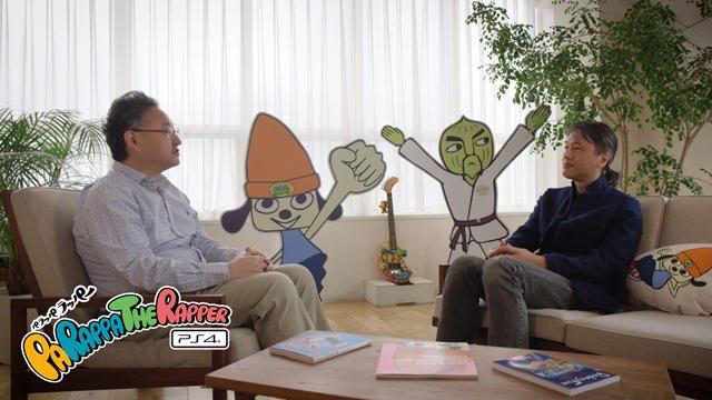 『パラッパラッパー』誕生秘話満載! 松浦雅也&吉田修平スペシャル対談・完全版を独占公開!