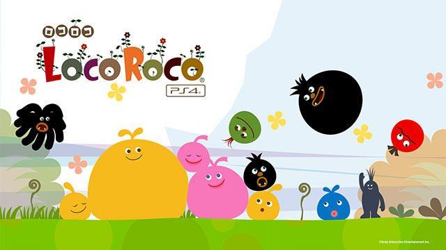 PS4®『LocoRoco』の発売日が6月22日に決定! 1,800円+税のお手頃価格! 陽気なロコロコたちに会いに行こう