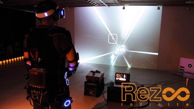 【PS VR】『Rez Infinite』シナスタジア・スーツ2.0究極体験! コンプリート・パックは本日再販開始!