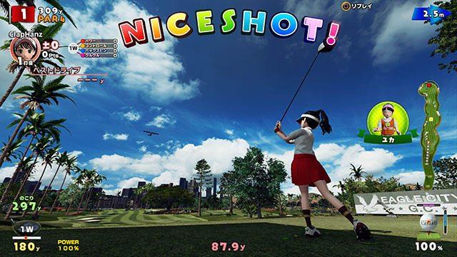 『New みんなのGOLF』──爽快感を極めたゴルフプレイの詳細が明らかに! マイキャラ育成も楽しい!【前編】